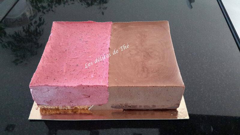 Entremet 2 parfums, chocolat et fruits rouges 22 09 18 (33)