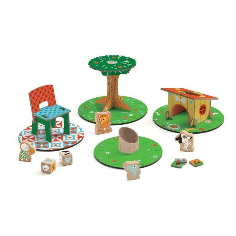 Boutique jeux de société - Pontivy - morbihan - ludis factory - Mamicatchmi plateau