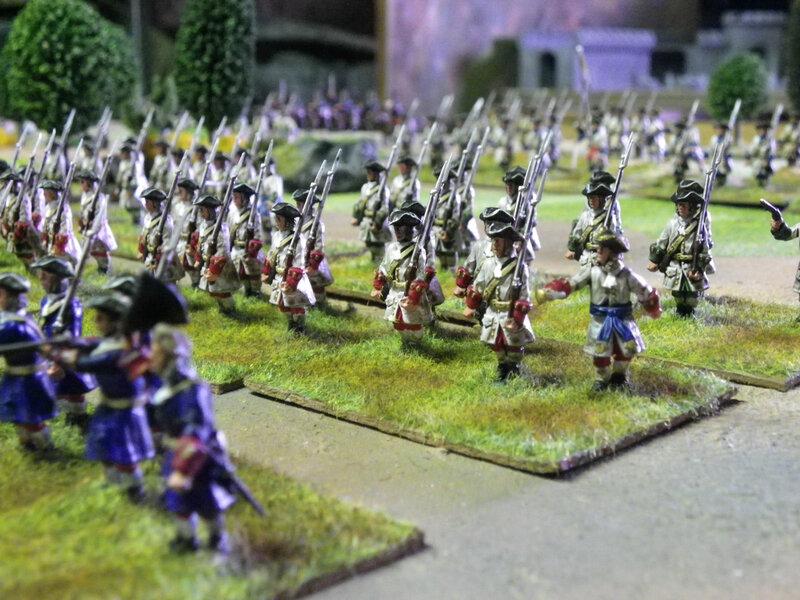 Soldats français guerre de succession d espagne