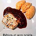 Filets de loup de mer sauce asiatique et purée carotte
