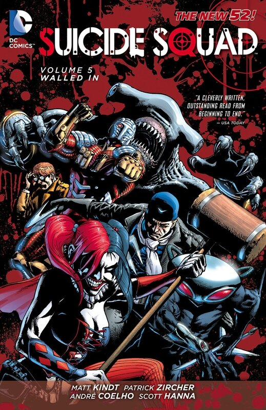 suicide squad vol 5 walled in TP