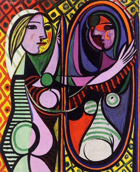 PICASSO - Girl before mirror resized