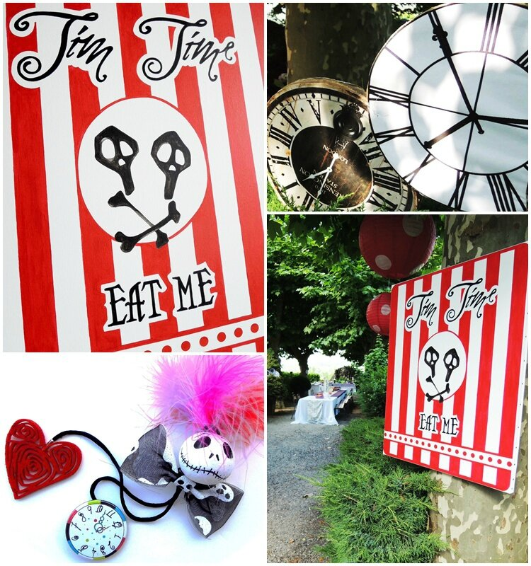 brunch_inspiration_tim_burton_scenographie_veronique_delphine_toile peinte_tea time_tim time_jardin-decor_les architectes du rêve