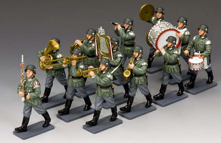 WH013 - The 12 pieces Classic Wehrmacht Band - EPUISE - OUT OF STOCK