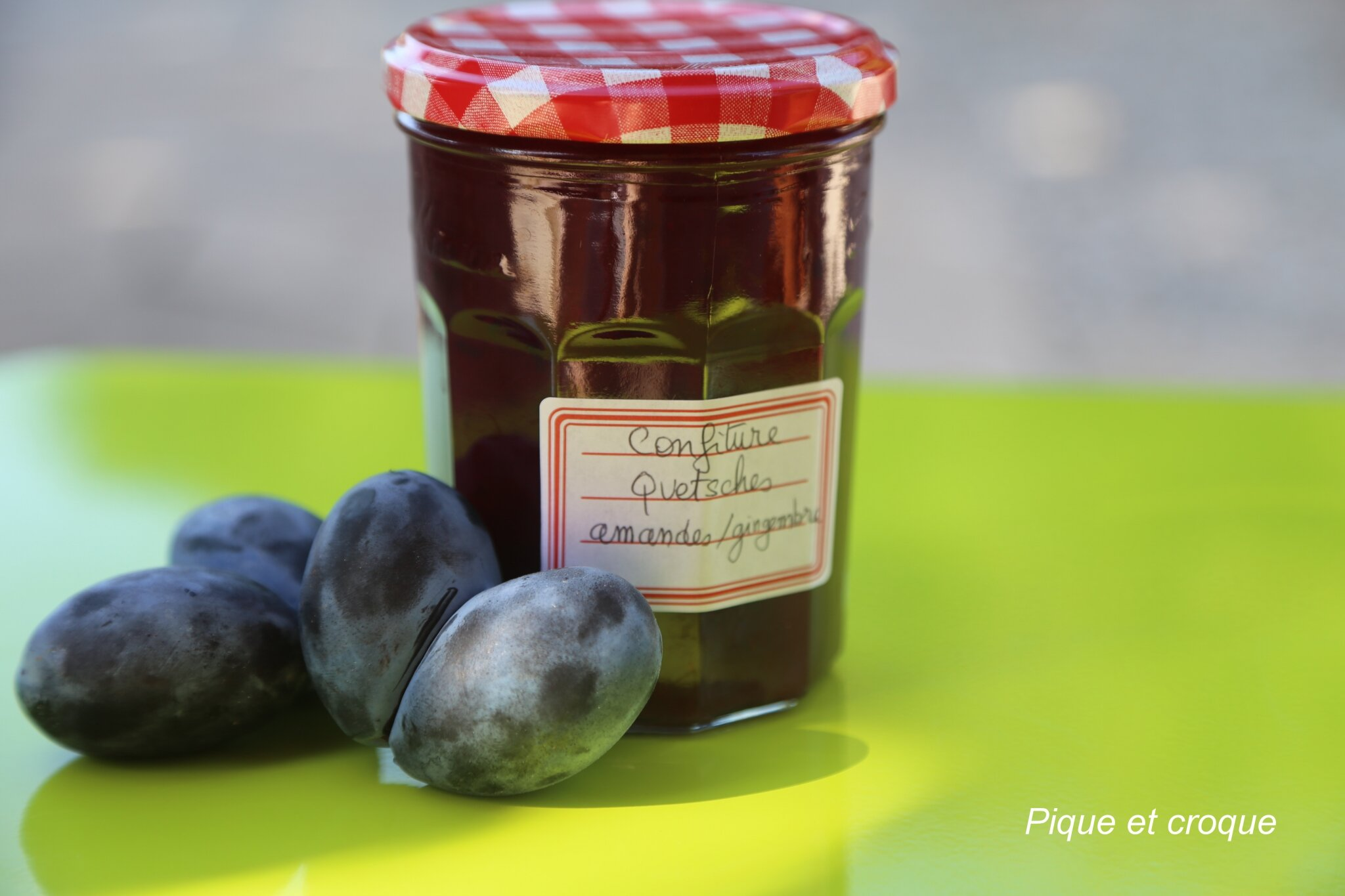 confiture figues quetsches