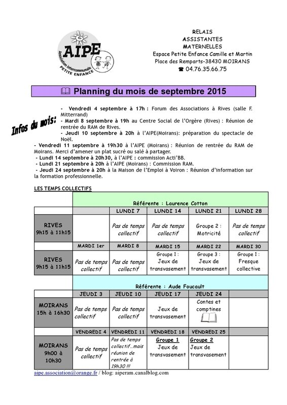 planning aude et laurence sept 15