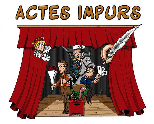 Deux affiches de th tre gribouillages - Dessin de theatre ...