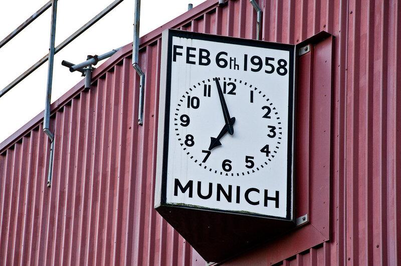 6 février 1958 HORLOGE OLD TRAFFORD