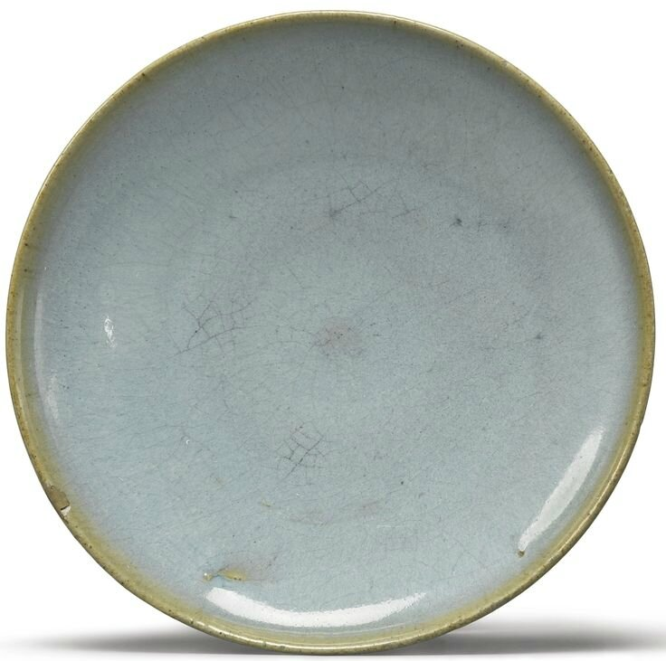A sky-blue 'Jun' dish, Song dynasty