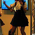 Idol singer en pleine action