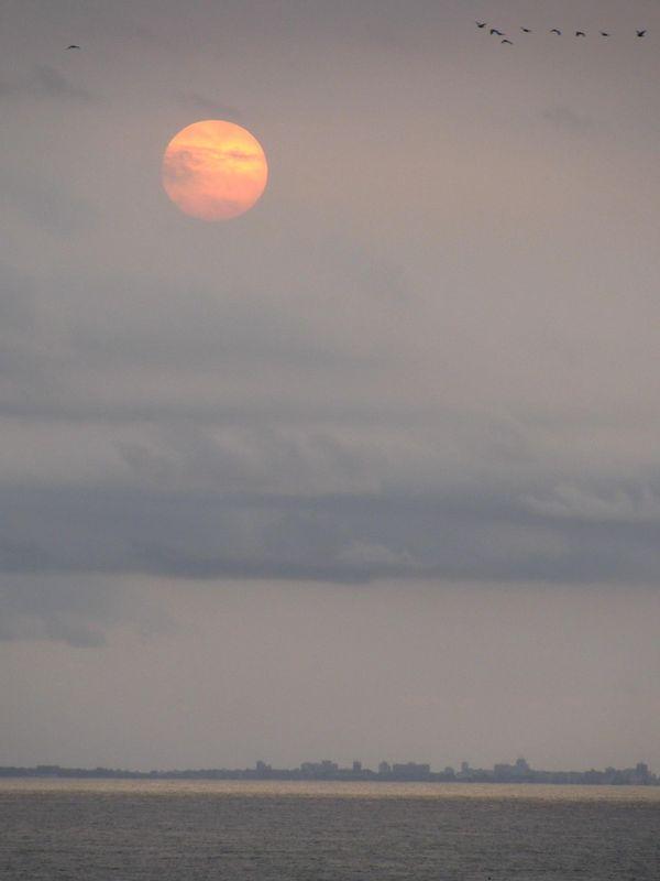 Le soleil va s'ecraser sur Dakar
