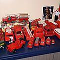 La caserne des sapeurs pompiers en miniatures