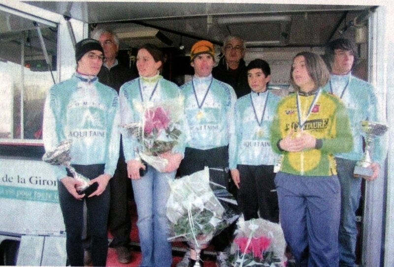 2008 Saint-Magne de Castillon podium
