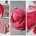 Tricoter pour les bébés ...