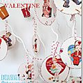 collection les galettes Valentine de marimerveille