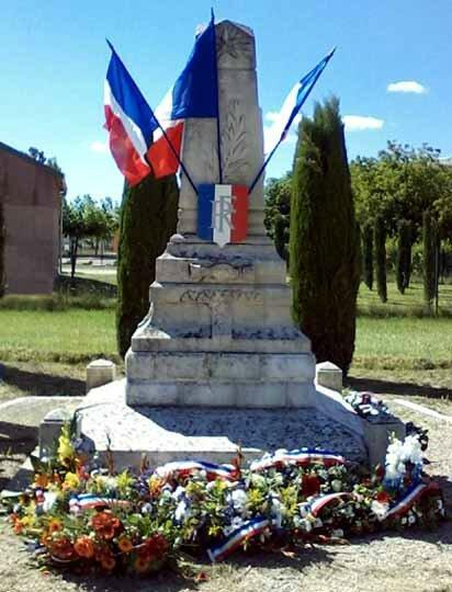 Le monument des Piles 2014