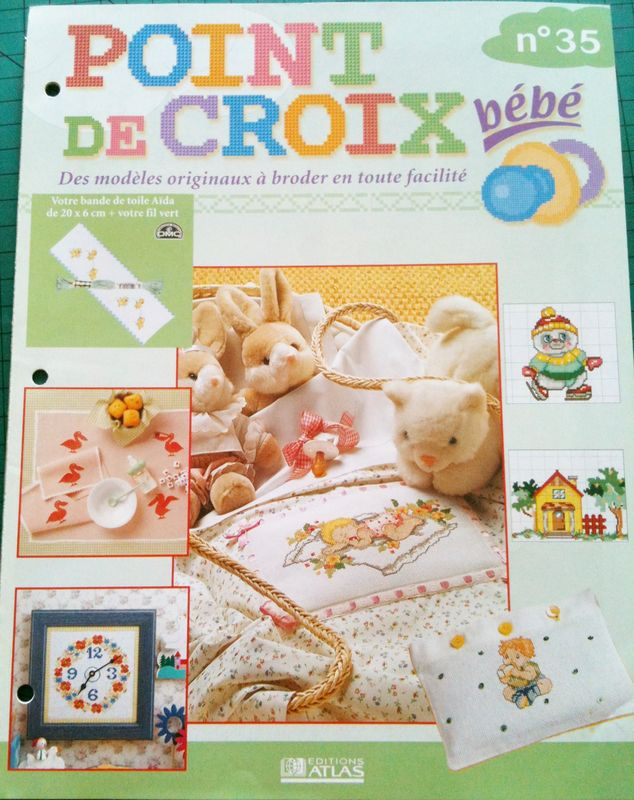 Fascicule Point De Croix Bebe N 35 Brin De Coton La Boutique