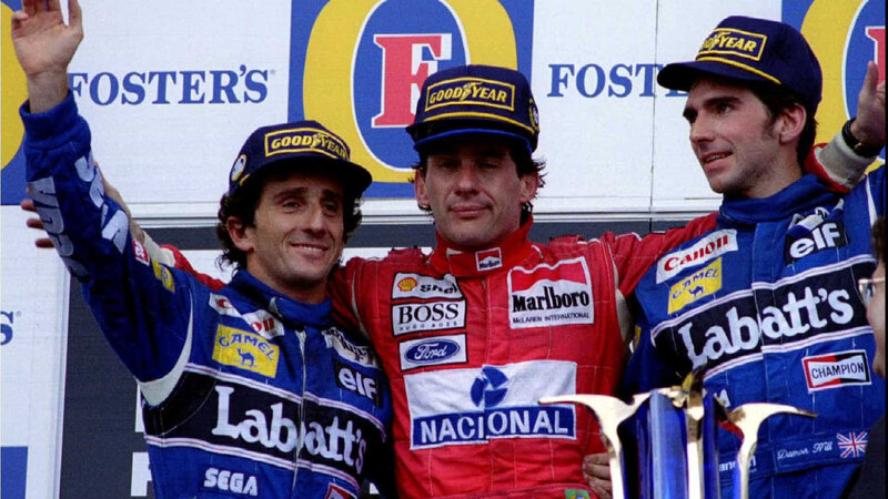 ayrton and prost