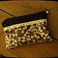 Pochette de sac pour les petites choses en vrac...