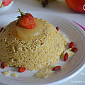 Bowlcake à la compote de pomme