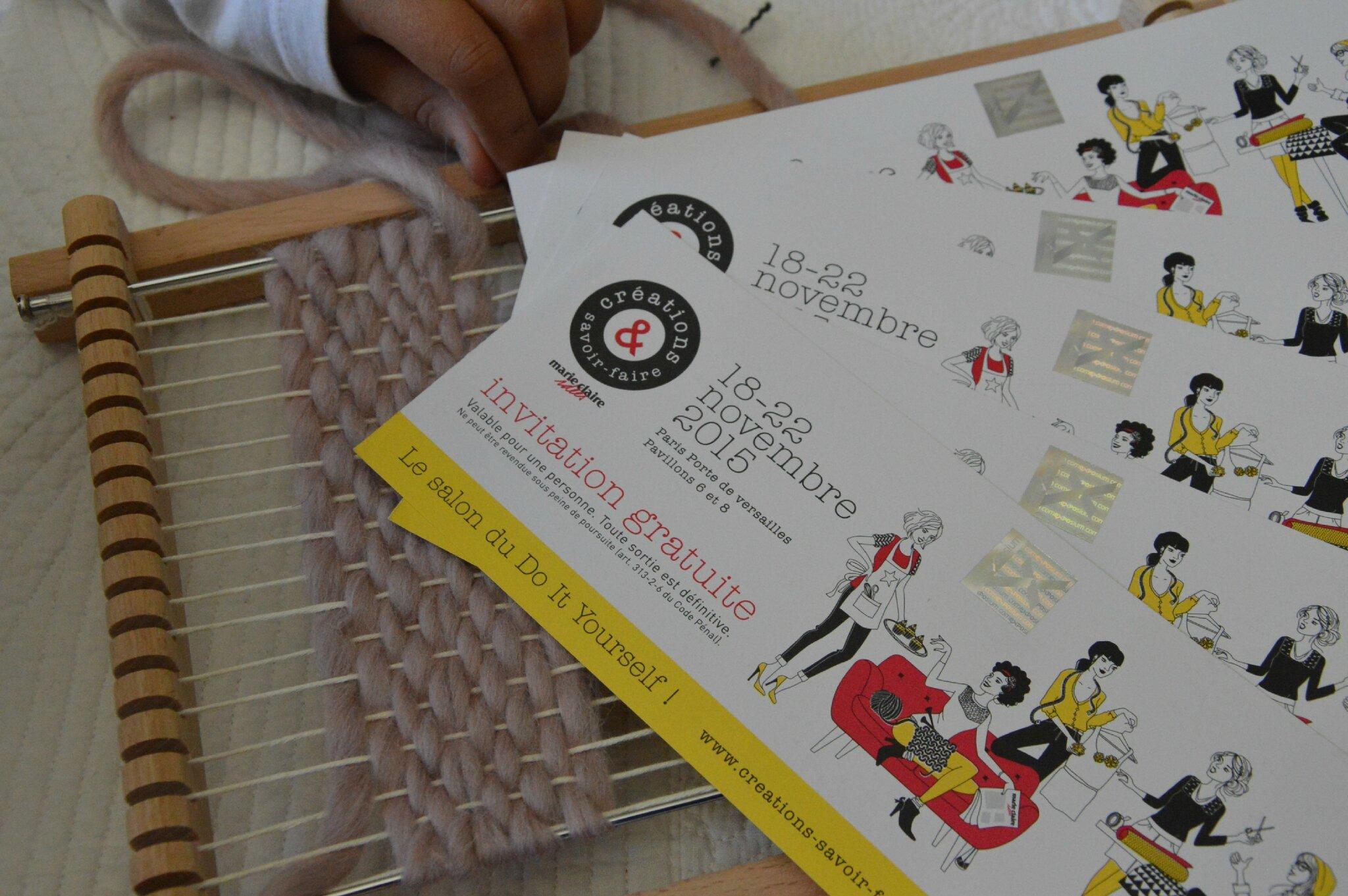 Création et Savoir Faire 2015 #concours + édit INSTAGRAM