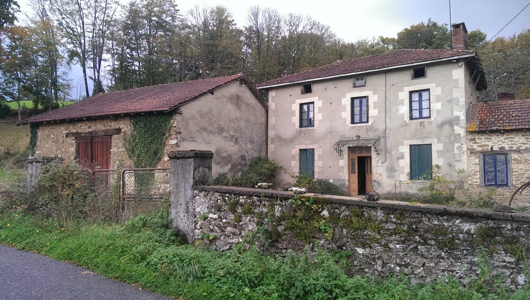4-Grange + Maison + Portail avt élagage