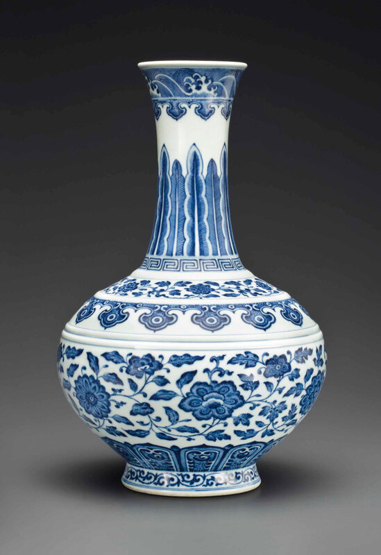 2013_NYR_02726_1388_000(a_fine_ming-style_blue_and_white_bottle_vase_daoguang_seal_mark_in_und)