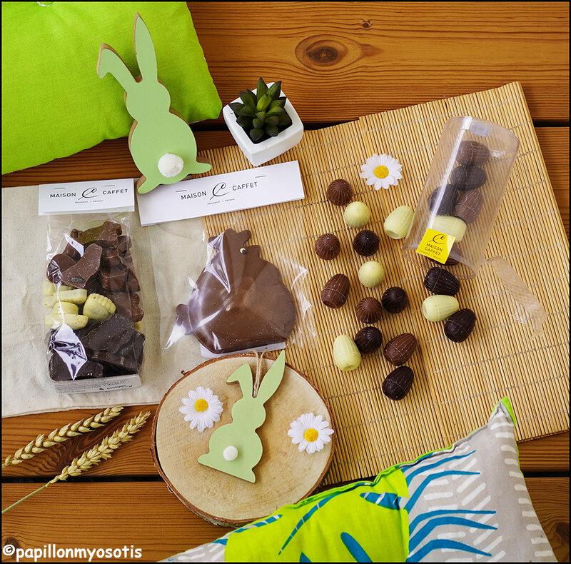 Chocolats Pâques Maison Caffet