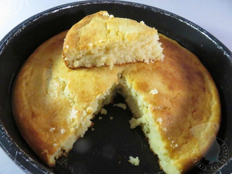 Gâteau au citron et lait ribot