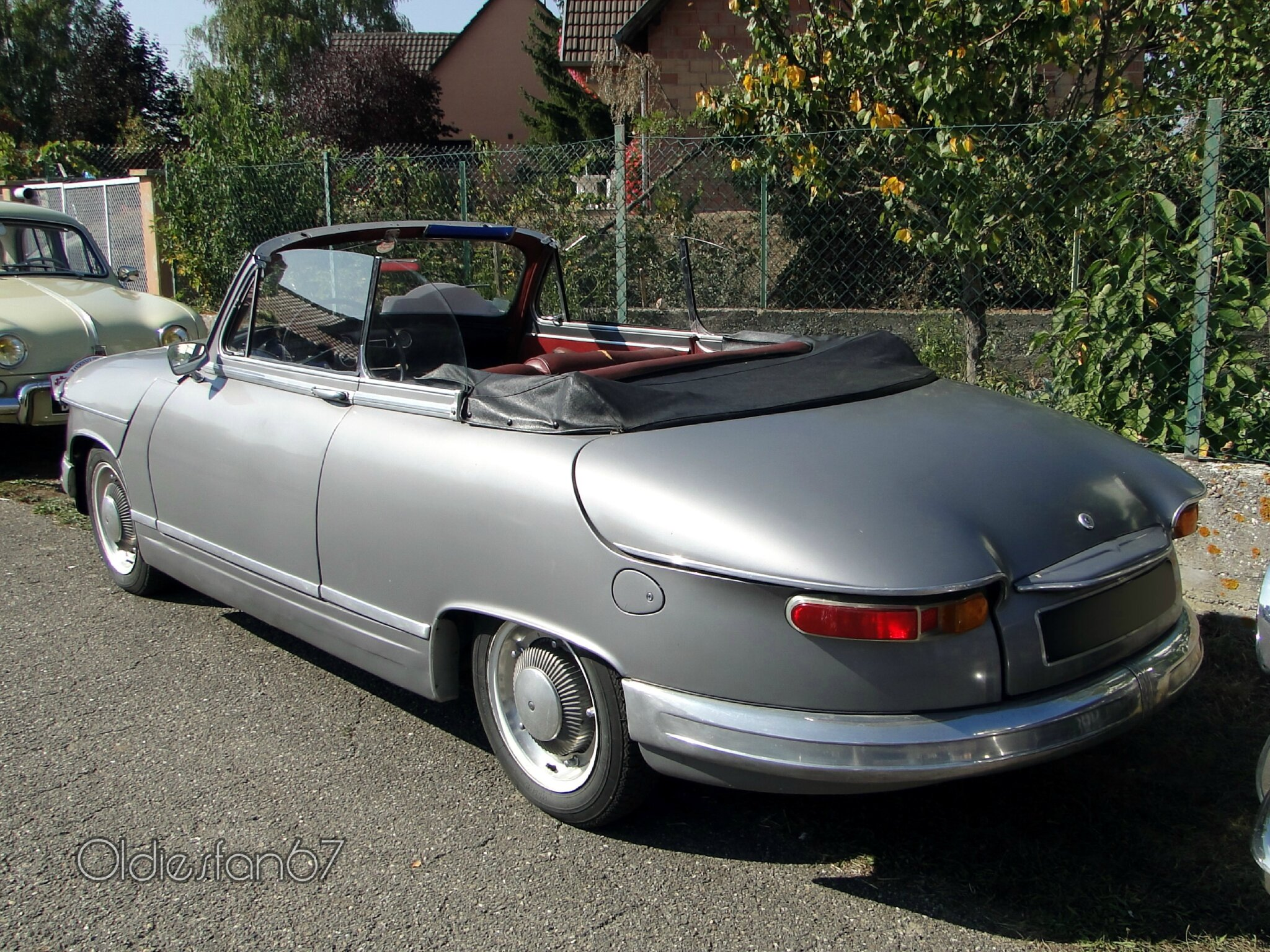 panhard pl17 cabriolet 1963 oldiesfan67 mon blog auto. Black Bedroom Furniture Sets. Home Design Ideas