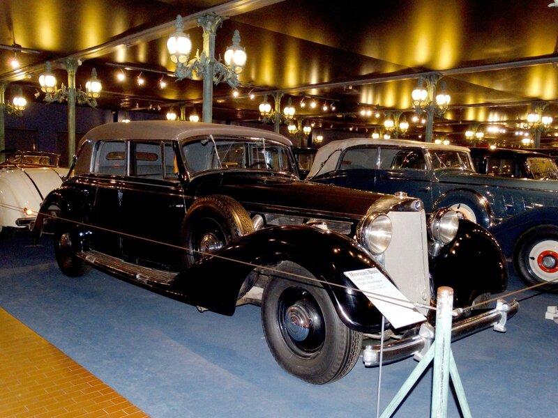 MERCEDES BENZ 770K cabriolet 1938 Mulhouse (1)
