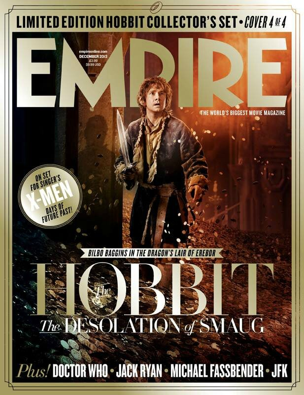 The Hobbit Desolation of Smaug Empire Cover 01
