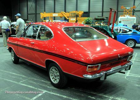 Opel kadett type B coupé de 1973 (RegioMotoClassica 2011) 02