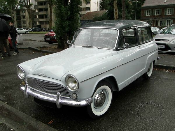 simca aronde p60 ranch 1961 a