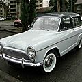 Simca aronde p60 ranch, 1961