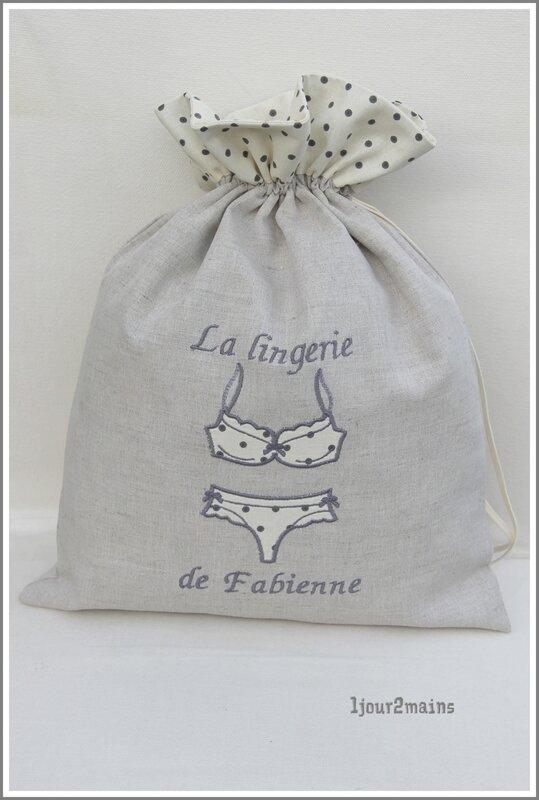 sac lingerie Fabienne
