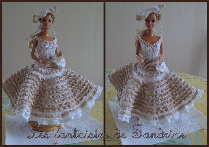 robe poupée barbie3