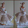 Robe de poupée barbie tatiana