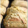 Cornbread au safran et herbes, sans lait et sans gluten