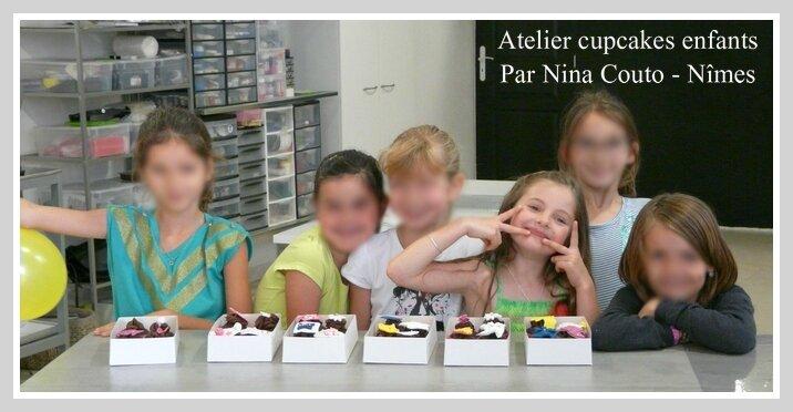 atelier cupcakes enfants nimes Fille 1