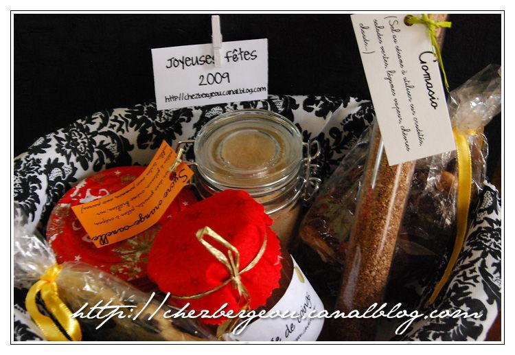 Paniers Gourmands 2009 Confitures Confit Doignons