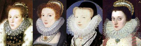 Dames anglaises 1577-1579