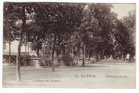 72 - LA FLECHE - Promenade du Pré