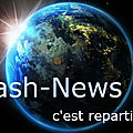Flash-news … c'est reparti !