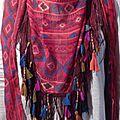 Foulard Triangle - Chèche 'Boho Hippie Chic