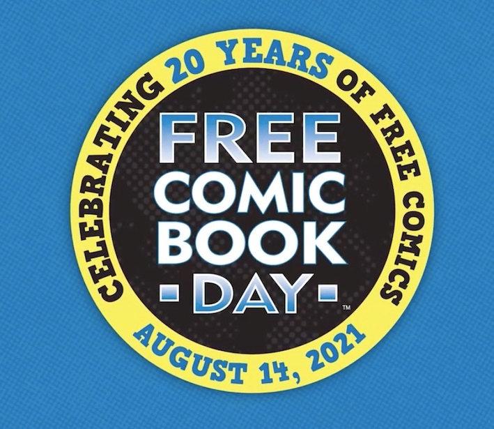 Free comic book day 2021