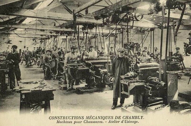 Constructions-mecaniques-Usine-Chaussures CHAMBLY