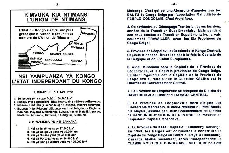 LES SIX PROVINCES DU CONGO BELGE b