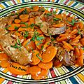 Tendrons de veau aux carottes et au cumin