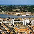 Bayonne, quartier des Arènes